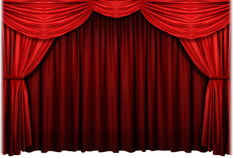 cartoon red curtains wallpaper - photo #24