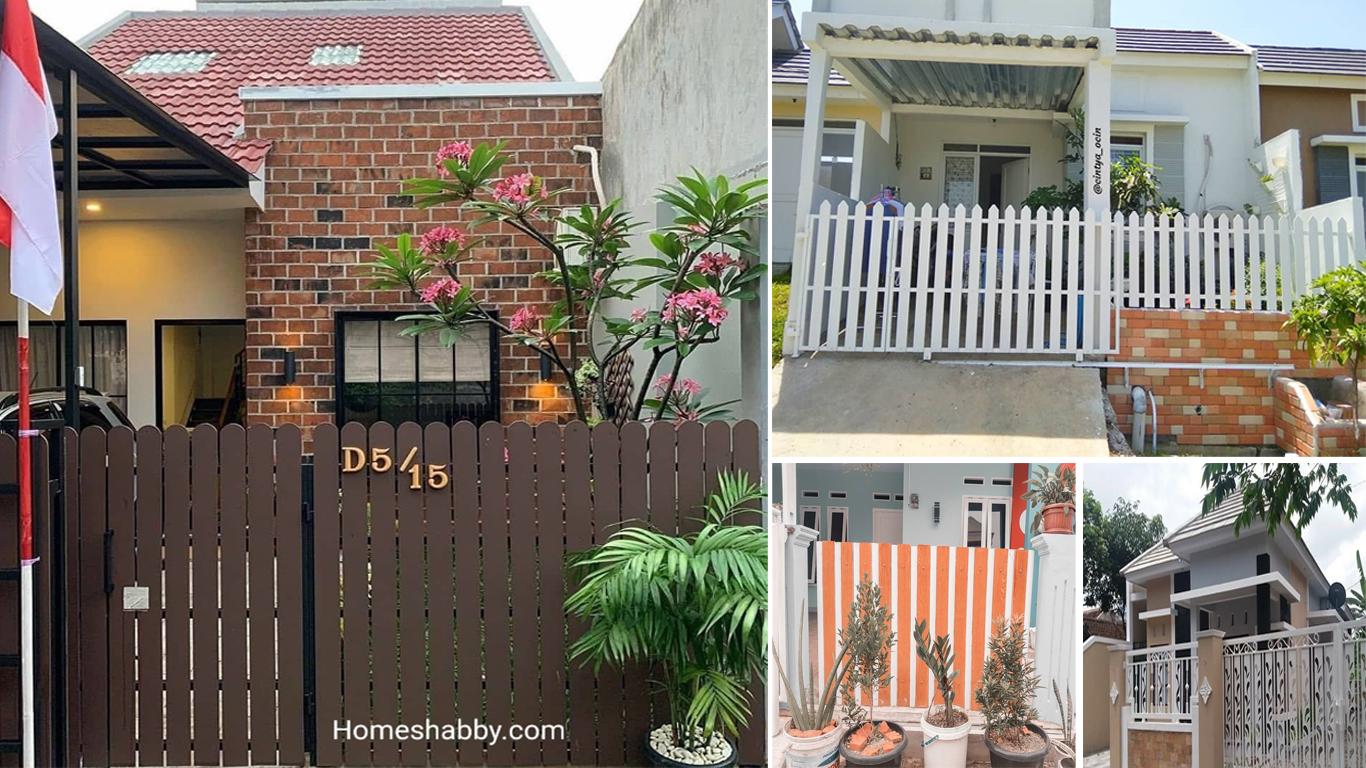 Inspirasi Warna Cat Pagar Rumah Minimalis 2021 Homeshabby Com Design Home Plans Home Decorating And Interior Design