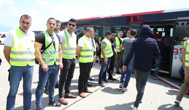 29 Albanians repatriated after they had sought asylum in France and Belgium