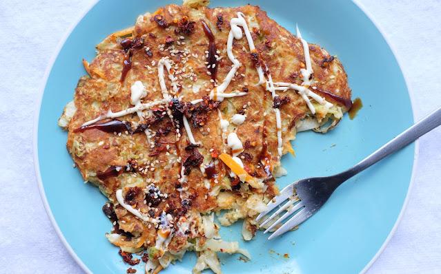 Japanese sourdough pancake