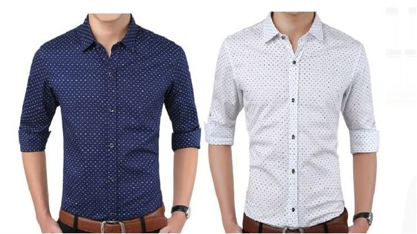 Pack Of 2 Cotton Printed Casual Shirts For Men