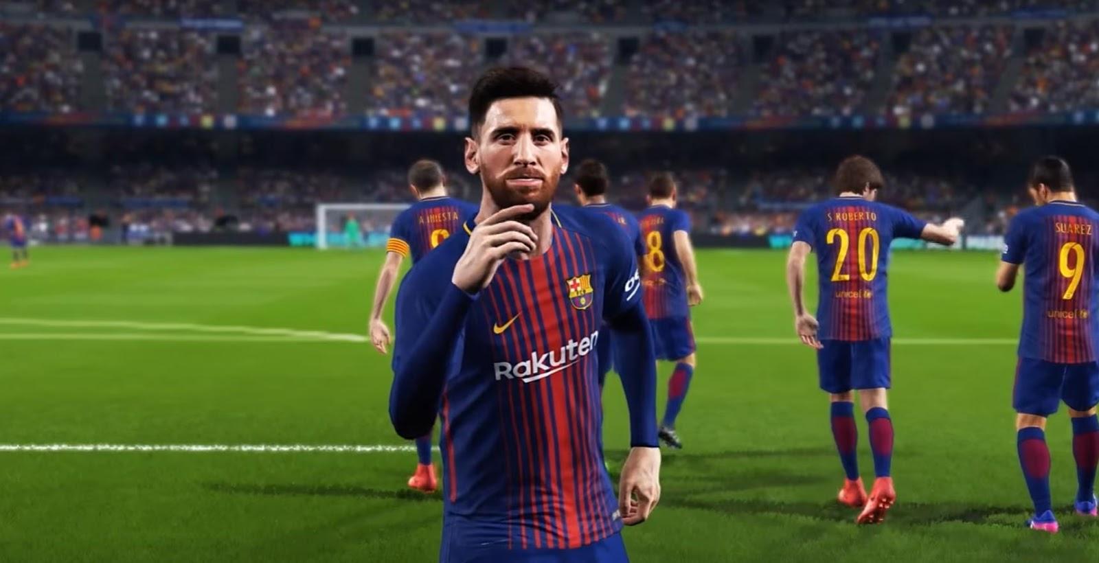 PES 2018 E3 Trailer + Usain Bolt, Maradona Legends ...