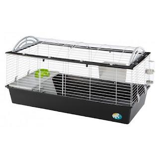 Voorbeeld van konijnenhokken voor binnen