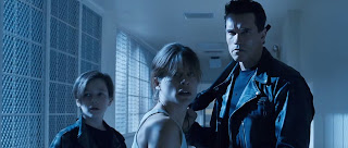Dunia Sinema Terminator 2 T-800, Sarah Connor dan John Connor
