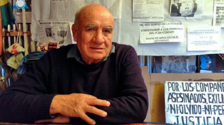 Llanos fue dirigente minero y resistió contra las dictaduras de Banzer y García Meza / TWITTER