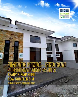 Rumah Ready & Siap Huni - Subsidi Biaya Akad - Simpang Pemda Ring Road Medan - The Flamboyan Suite
