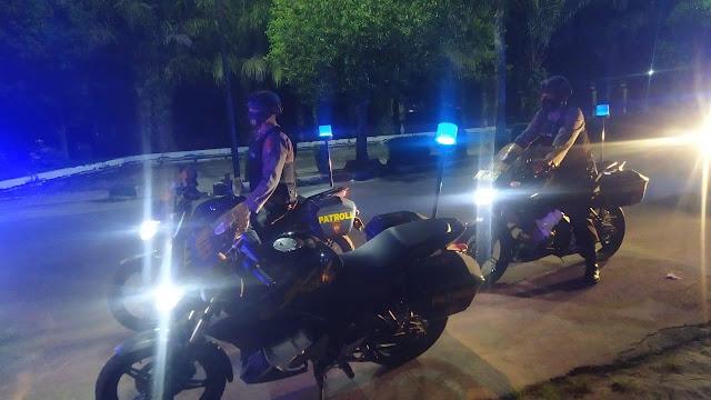 Team Jelawat Sat Samapta Polres Kotim Melaksanakan Patroli Antisipasi Balapan Liar