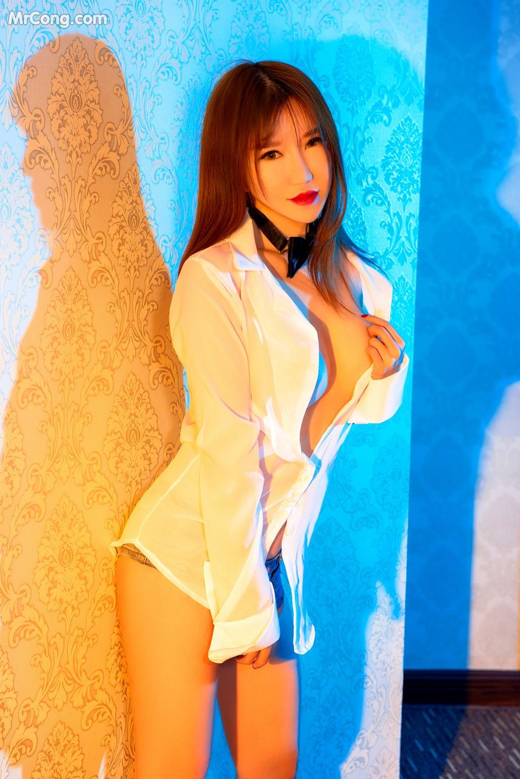 Image SLADY-2017-05-25-No.002-Han-Enxi-MrCong.com-025 in post SLADY 2017-05-25 No.002: Người mẫu Han Enxi (韩恩熙) (45 ảnh)