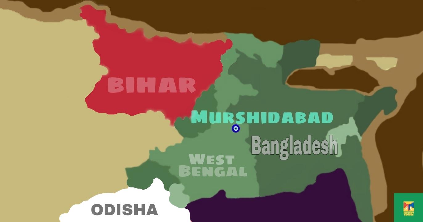 Odisha map, Murshidabad map, bihar map, west Bengal map Bangladesh map