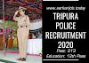 Tripura Police Recruitment 2020: 213 Mahila Police Volunteer Post