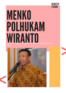 MENKO POLHUKAM Wiranto di Tusuk! Polisi berhasil tangkap pelaku