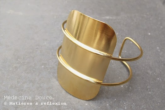 Bracelet Médecine Douce Karma Manchette XL