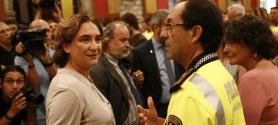 Colau, Barcelona, Podemos, Ideología, Vida privada, policias