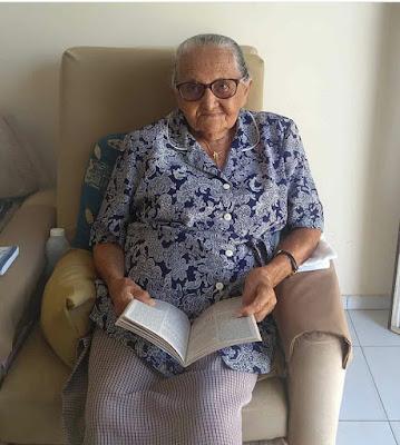 Dona Amália de Olho D'Água do Casado completa 95 anos de idade nesta sexta-feira, 17