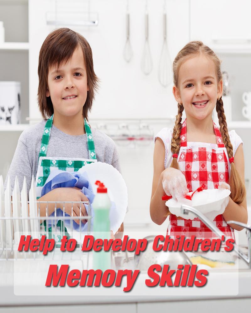 Help to Develop Children's Memory Skills
