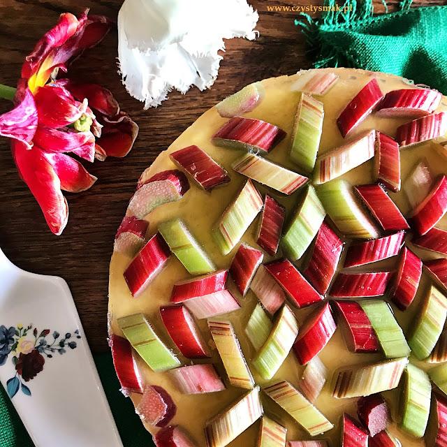 Bezglutenowy biszkopt kokosowy z galaretką
