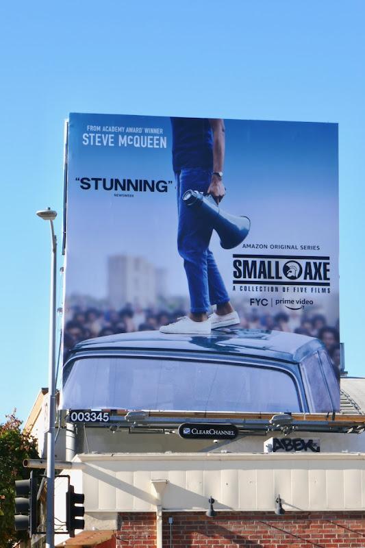 Small Axe FYC billboard