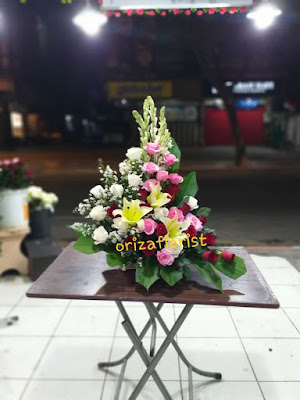 buket meja surabaya, jual buket bunga murah di surabaya, penjual buket bunga di surabaya