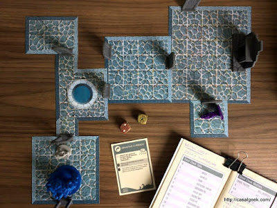 Dungeon Crawl Narrativista com Dungeon World e Mythic Variations II (Final)