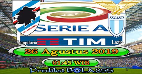 Prediksi Bola855 Sampdoria vs Lazio 26 Agustus 2019