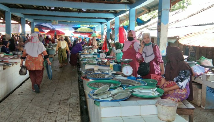 Keluhan Pedagang Pasar Sinjai Kehilangan Omzet karena Virus Corona