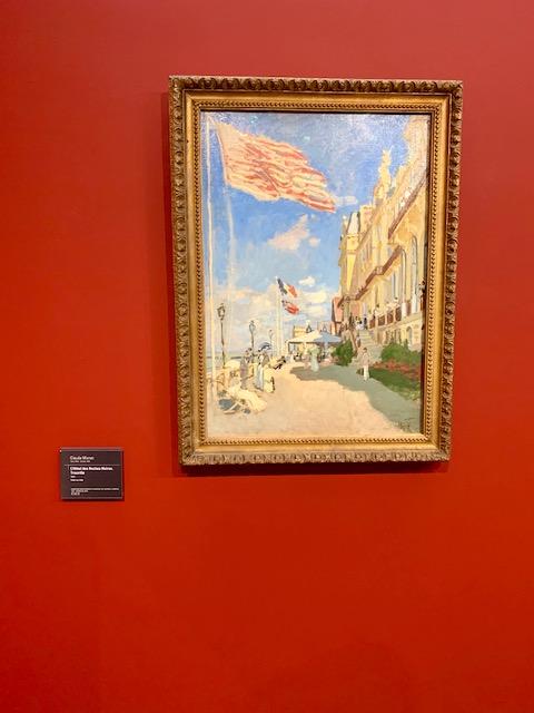 Monet's L'hotel des Roches Noires