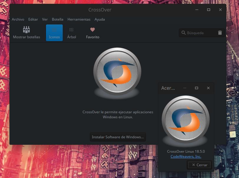 Instalar crossover 18 GNU/Linux   Novedad23