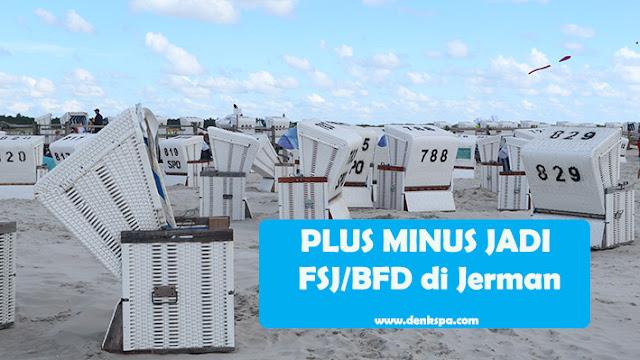 PLUS MINUS JADI FSJ/BFD di Jerman