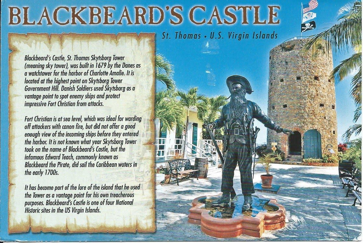 Blackbeard's Treasure, caribbean island