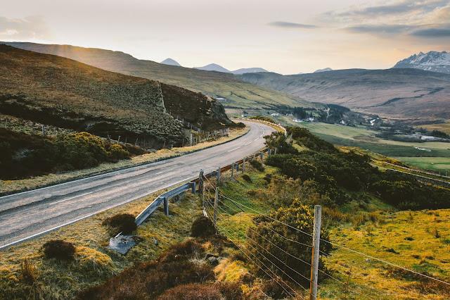 route écossaise