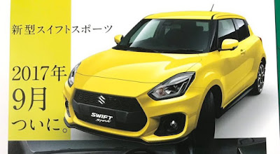 Bocoran brosur Swift Sport 2018