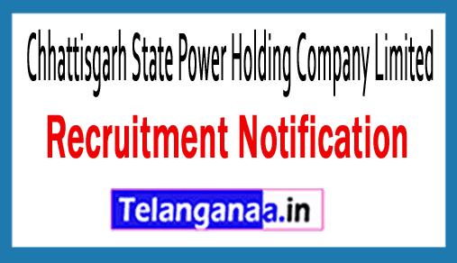 Chhattisgarh State Power Holding Company Limited CSPHCL Recruitment