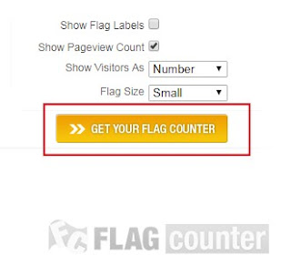 cara pasang flag counter di blog