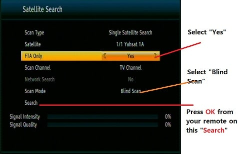 How to add new channel in DD Free dish SD HD FTA MPEG-4 Set-Top Box?