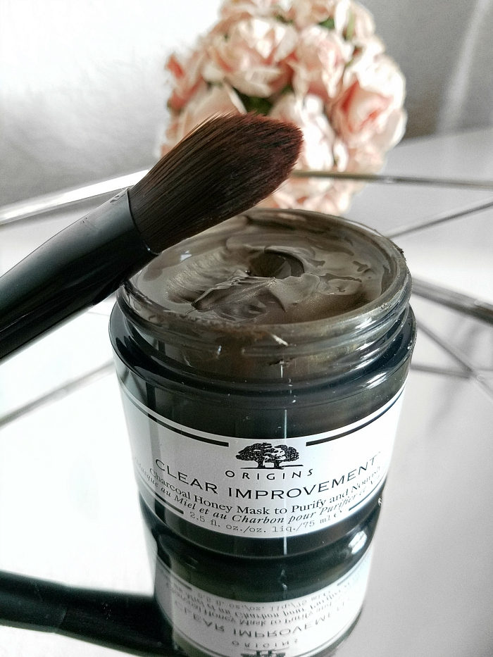 ORIGINS - Clear Improvement Charcoal Honey Mask  - Madame Keke Beauty Blog, review, erfahrungen