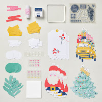 christmas craft kit for tags scrapbooking and card making