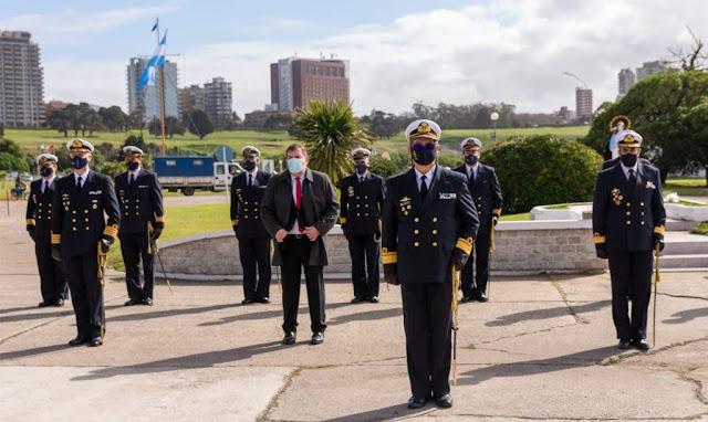 El Comando de la Fuerza de Submarinos Argentina conmemoró su 88º Aniversario