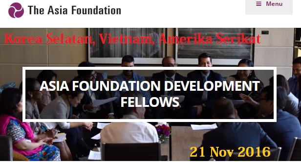 Beasiswa kepemimpinan untuk Indonesia