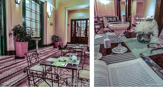 Restaurante La Scala, no Hotel de la Ópera, La Candelaria, Bogotá