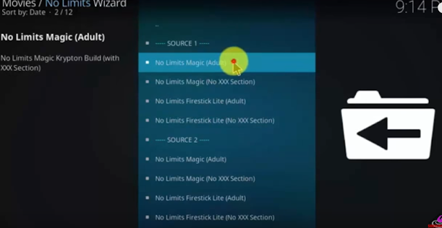 no limit adult kodi addon