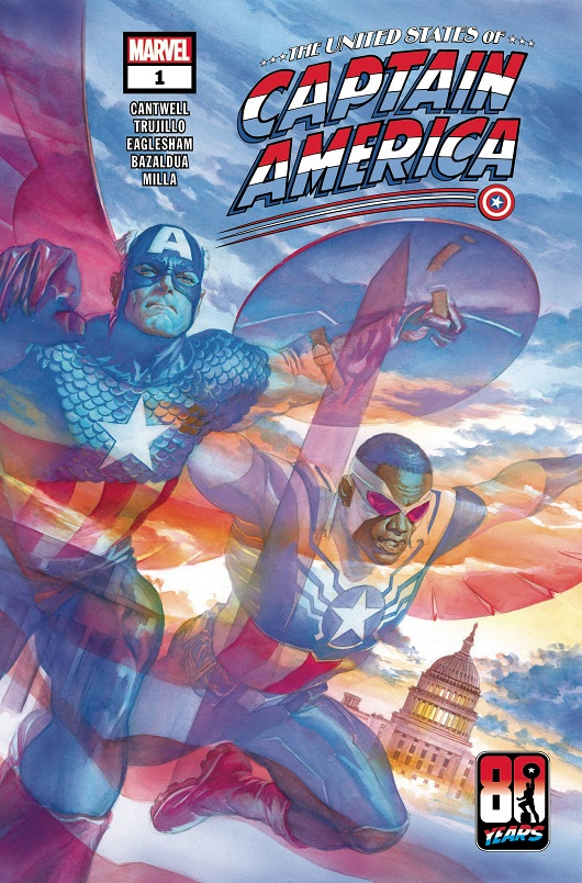 Cover of United States of Captain America #1