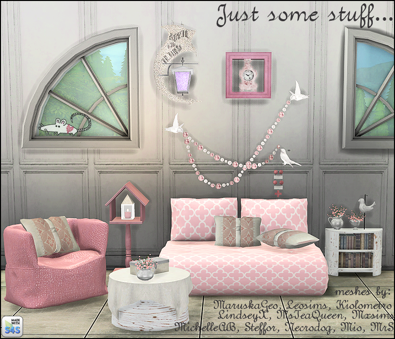 My Sims 4 Blog Living And Decor Recolors By Loveratsims4