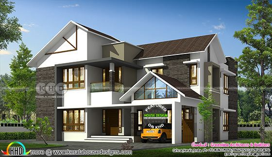 2916 sq-ft 4 bedroom house plan