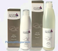 Logo Vinci gratis Shampoo Argan e Crema corpo Naturmed