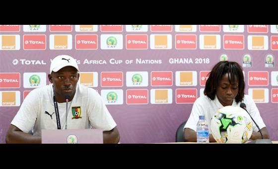 Nigeria - Cameroun: Propos de Joseph Ndoko et Gabrielle Onguene lors de la conférence de presse