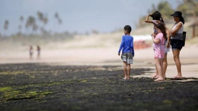 2500km of coastline contaminated with oil, Brazil accuses Greece