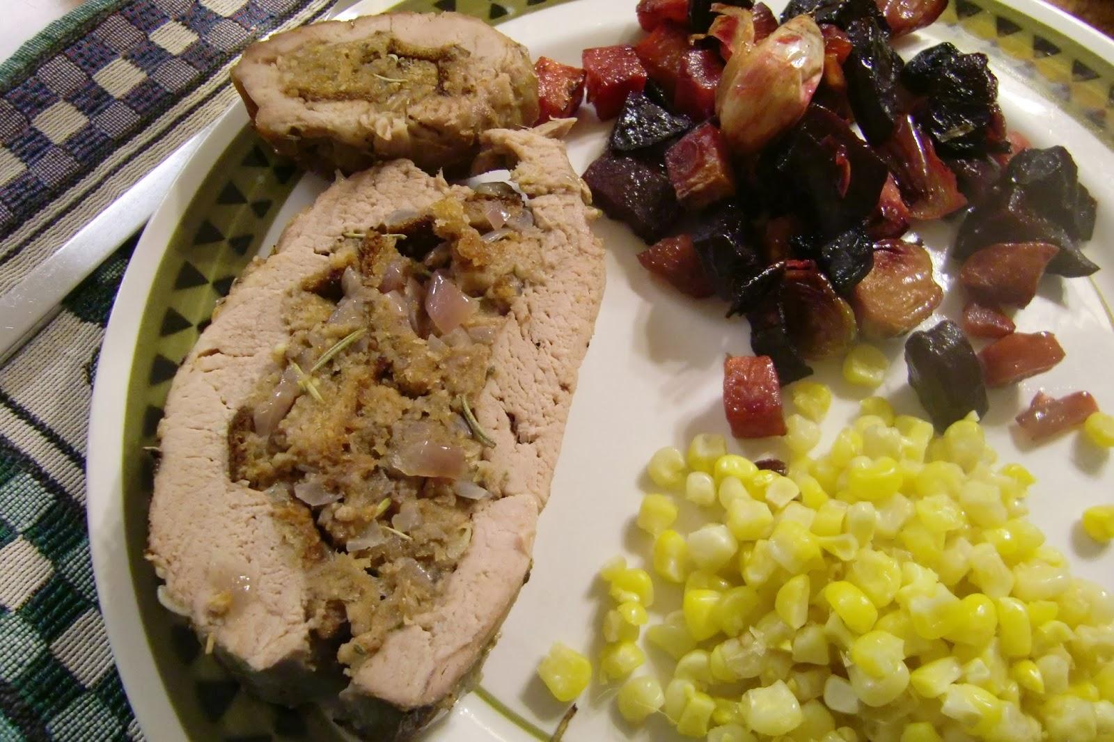 Supper Sunday: Stuffed Pork Tenderloin