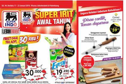 Katalog Promo Superindo Periode 17 - 23 Januari 2019