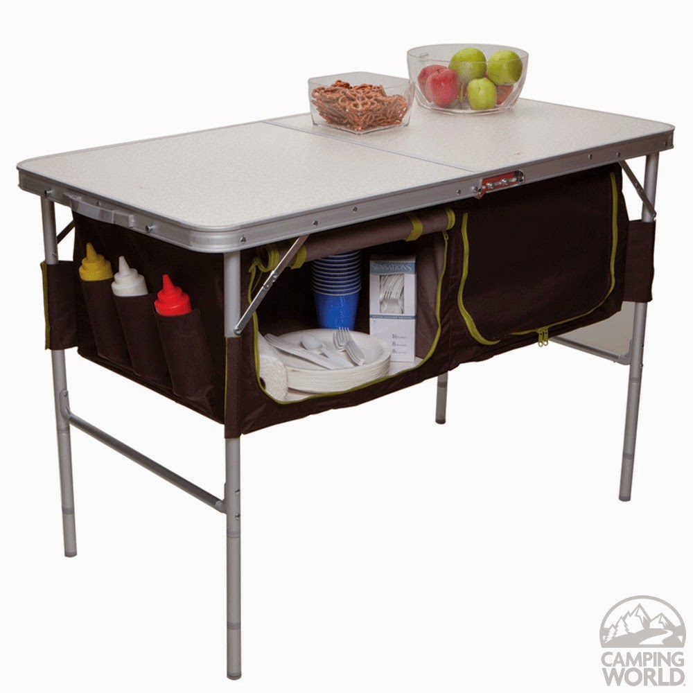 Tiny Yellow Teardrop Five Best Folding Tables For