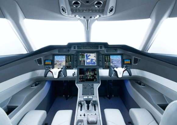 Aerion AS2 cockpit